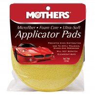 Microfiber ● Foam Core ● Ultra-Soft Applicator Pads