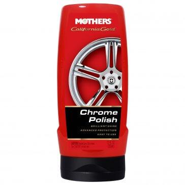 Mothers Chrome Polish 355ml - mleczko do czyszczenia chromów